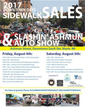 Soo Sidewalk Sales 2017