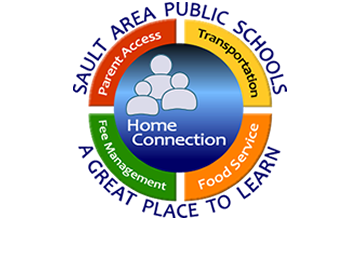 Home Connection parent portal for parent access, transportation, food service and fee management.