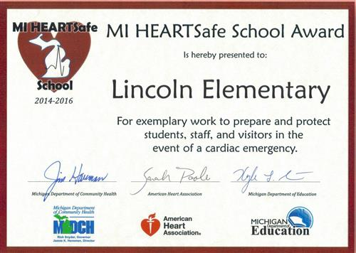 MI HEART Safe School